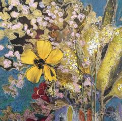 3D collage bloemen