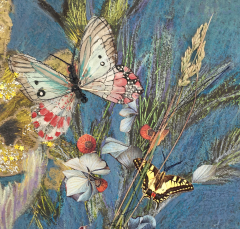 3D collage Butterfly